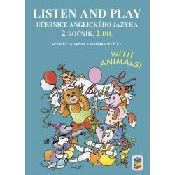 0281 Učebnice Listen and play 2,2. díl
