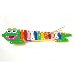8011 Xylofon krokodýl