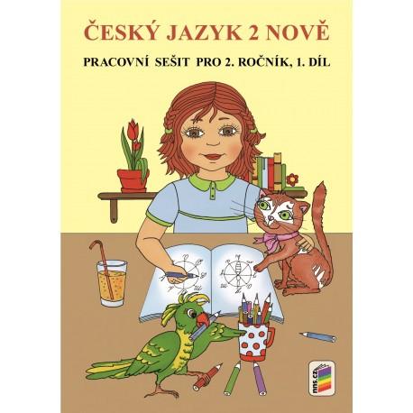 0253 Český jazyk 2 nově, pracovní sešit, 1. díl