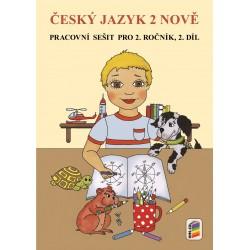 0254 Český jazyk 2 nově, 2. díl - pracovní sešit