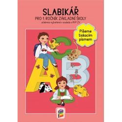 0150 Slabikář - píšemš tiskařským písmem - novinka