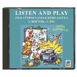 02822 CD Listen and play 2, 2. díl - novinka