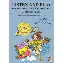 0386 Listen and play 3, 2. díl, pracovní sešit
