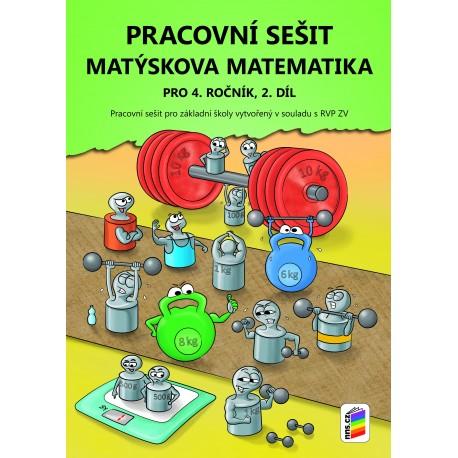 0428 Matýskova matematika 4, 2. díl, prac. sešit