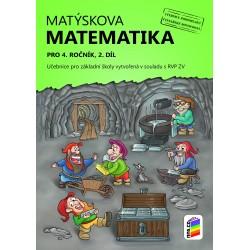 0436 Matýskova matematika, 2 díl, učebnice