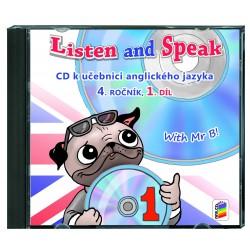 04821 CD Listen a Speak 4, 1.díl
