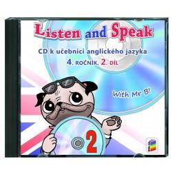04822 CD Listen a Speak 4, 2.díl