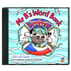 04823 CD Mr B´s Word Bank (CD ke slovíčkům) 2CD