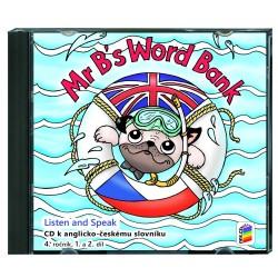 04823 CD Mr B´s Word Bank (CD ke slovíčkům) 2CD