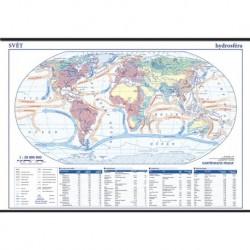 13737 Svět - hydrosféra - školní nástěnná mapa