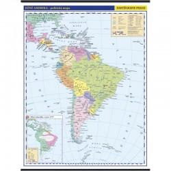 13744 Jižní Amerika - politická mapa