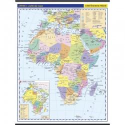 13746 Afrika - politická mapa