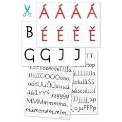 13846 Comenia script - písmena k vystřihování