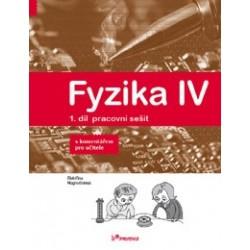179036 Prodos - Fyzika IV – 1. díl – pracovní sešit s komentářem pro učitele - Novinka