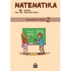 165952 SPN - Matematika pro 5. r. ZŠ, pracovní sešit (2. díl)