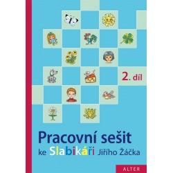 92854 Alter - PRACOVNÍ SEŠIT ke Slabikáři - 2. díl