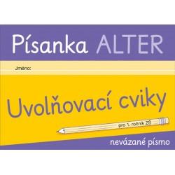 92143 Alter - PÍSANKA – Uvolňovací cviky pro nevázané písmo