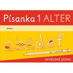 92136 Alter - PÍSANKA 1 pro 1. ročník - nevázané písmo