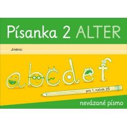 92137 Alter - PÍSANKA 2 pro 1. ročník - nevázané písmo