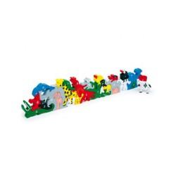 8116 Prostorové puzzle zvířátka