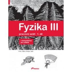 178036 Prodos - Fyzika III – 1. díl – pracovní sešit s komentářem pro učitele