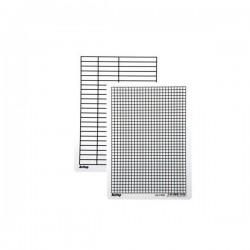 13565 Lenoch A5 úzká linka / čtvereček (PVC)