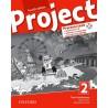 14723 - Oxfird -Project Fourth Edition 2 Pracovní sešit s poslechovým CD a Project Online Practice