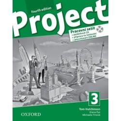 14724 - Oxford - Project Fourth Edition 3 Pracovní sešit s poslechovým CD a Project Online Practice