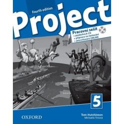 14726 - Oxford - Project Fourth Edition 5 Pracovní sešit s poslechovým CD a Project Online Practice