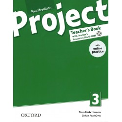 14729 - Oxford - Project Fourth Edition 3 Teacher´s Book with Online Practice Pack
