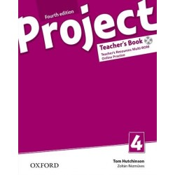 14730 - Oxford - Project Fourth Edition 4 Teacher´s Book with Online Practice Pack