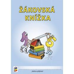 0304 Žákovská knížka 3.- 9. roč. v modré barvě