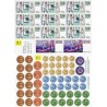 0118 Papírové mince a bankovky - sada