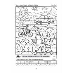 01916 Písankový sešit s pomocnými linkami 511+ s prodlouženými řádky