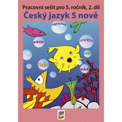 0561 Český jazyk 5 NOVĚ 2. díl prac. sešit