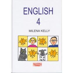 ENGLISH 4 -učebnice, slovníček