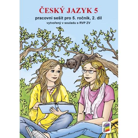 0577 Český jazyk 5, 2. díl (prac. sešit) - nová řada