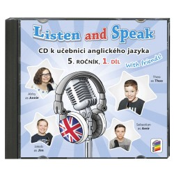 05821 CD Listen and Speak 5, 1. díl, 2CD