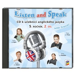 05822 CD Listen and Speak 5, 2. díl, 2CD
