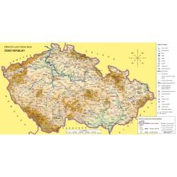 Vlastivěda 4 - náhradní mapa k zeměpisné učebnici