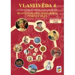 Vlastivěda 4 - Hlavní události nejstarších českých dějin - učebnice