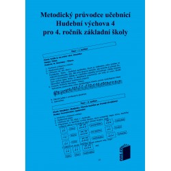 Metodický průvodce k učebnici HV 4.