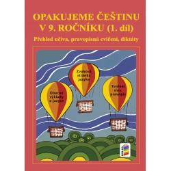 Opakujeme češtinu v 9. roč. 1. díl