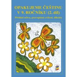 Opakujeme češtinu v 9. roč. 2. díl