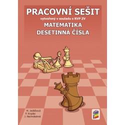 0623 Matematika - Desetinná čísla, prac. sešit Novinka