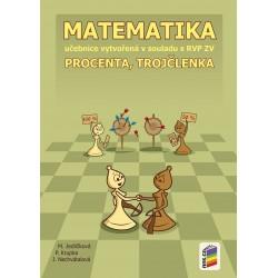 0726 Procenta, trojčlenka, učebnice