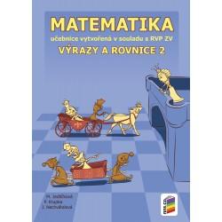 0828 Výrazy a rovnice 2, učebnice
