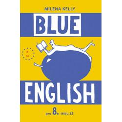 BLUE ENGLISH 8 - učebnice, slovníček