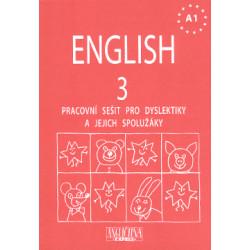 ENGLISH 3 - Pracovní sešit pro dyslektiky včetně CD