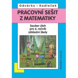 14025 Pracovní sešit z matematiky pro 6. ročník - soubor úloh